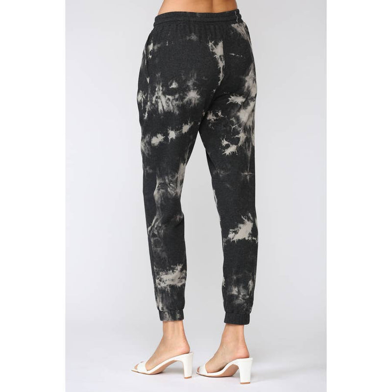 FATE TIE DYE THERMAL KNIT JOGGERS
