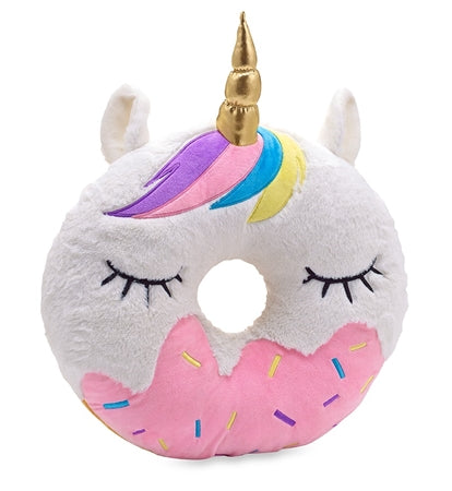 Top Trenz Unicorn Donut Scented Pillow