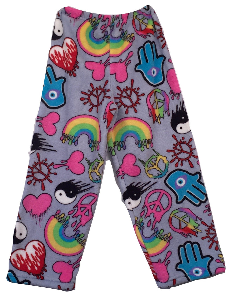 DRIPPING GRAFFITI PANTS