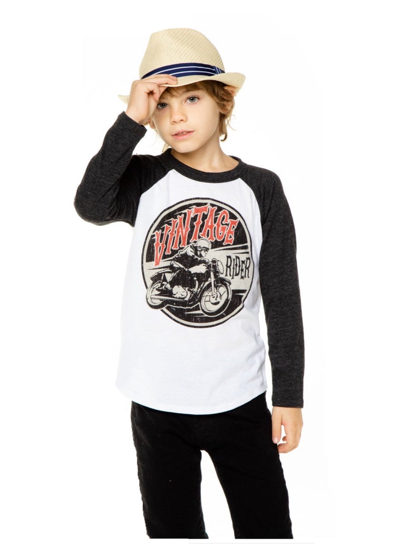 Chaser Boys Vintage Rider L/S Tee