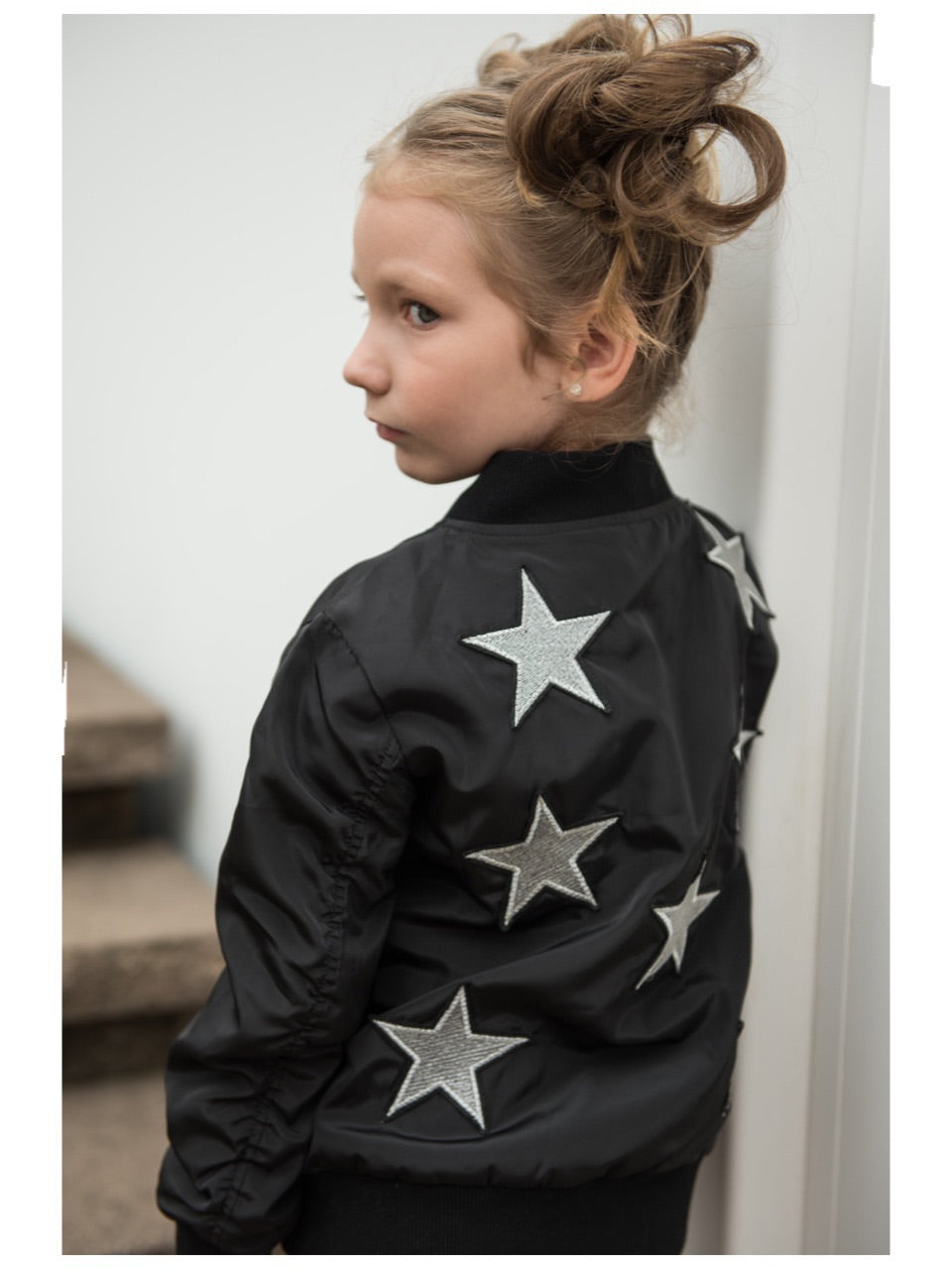 Sparkle By Stoopher Star Bomber Jacket