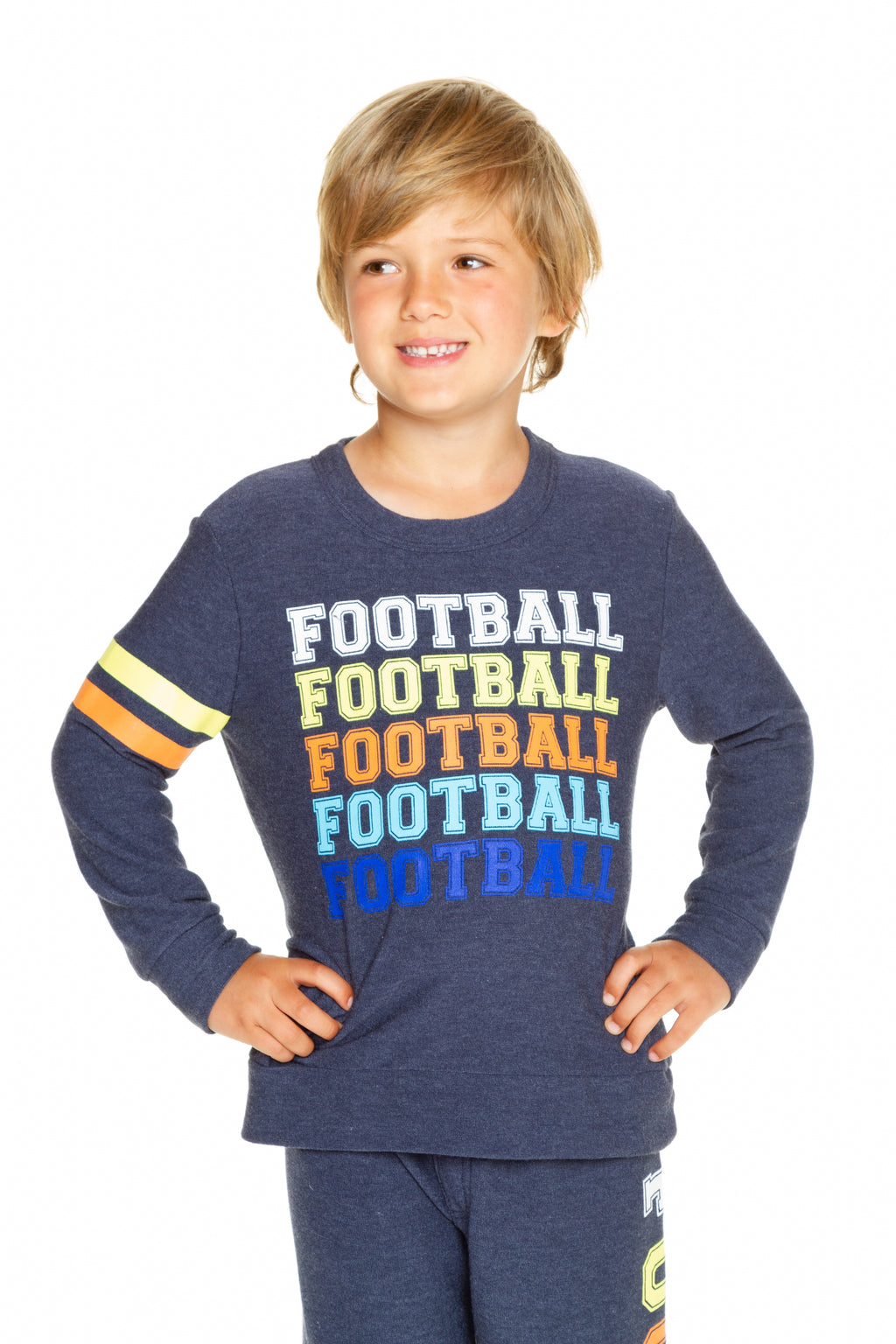 Chaser Boys Game Day Cozy Knit Football