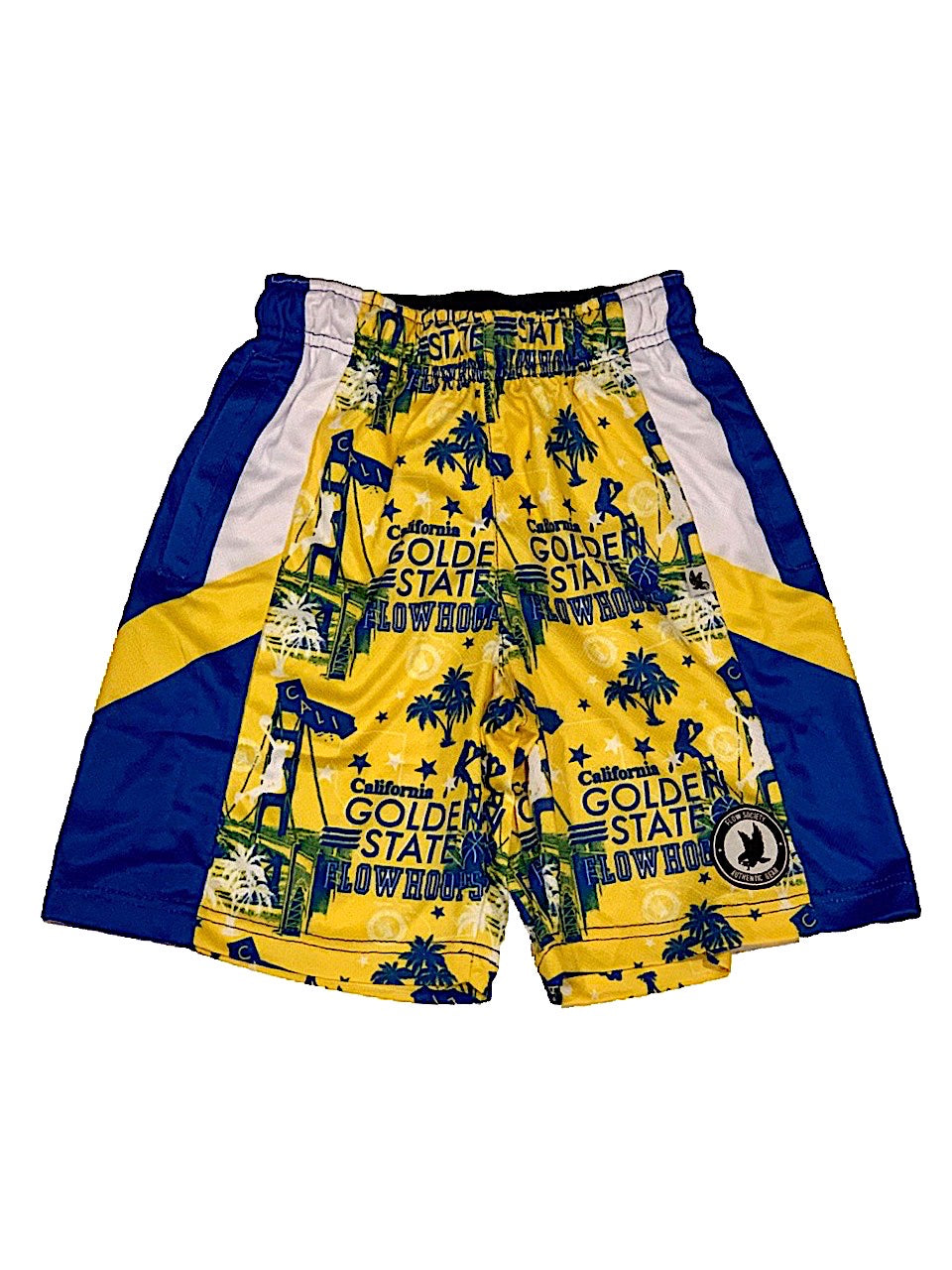 FlOW SOCIETY GOLDEN STATE HOOPS SHORTS