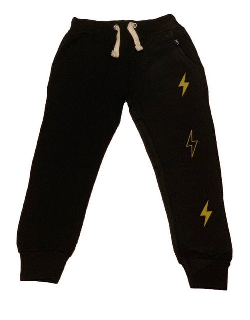 Vintage Havana Boys Black Scrunch Bottom Sweatpants