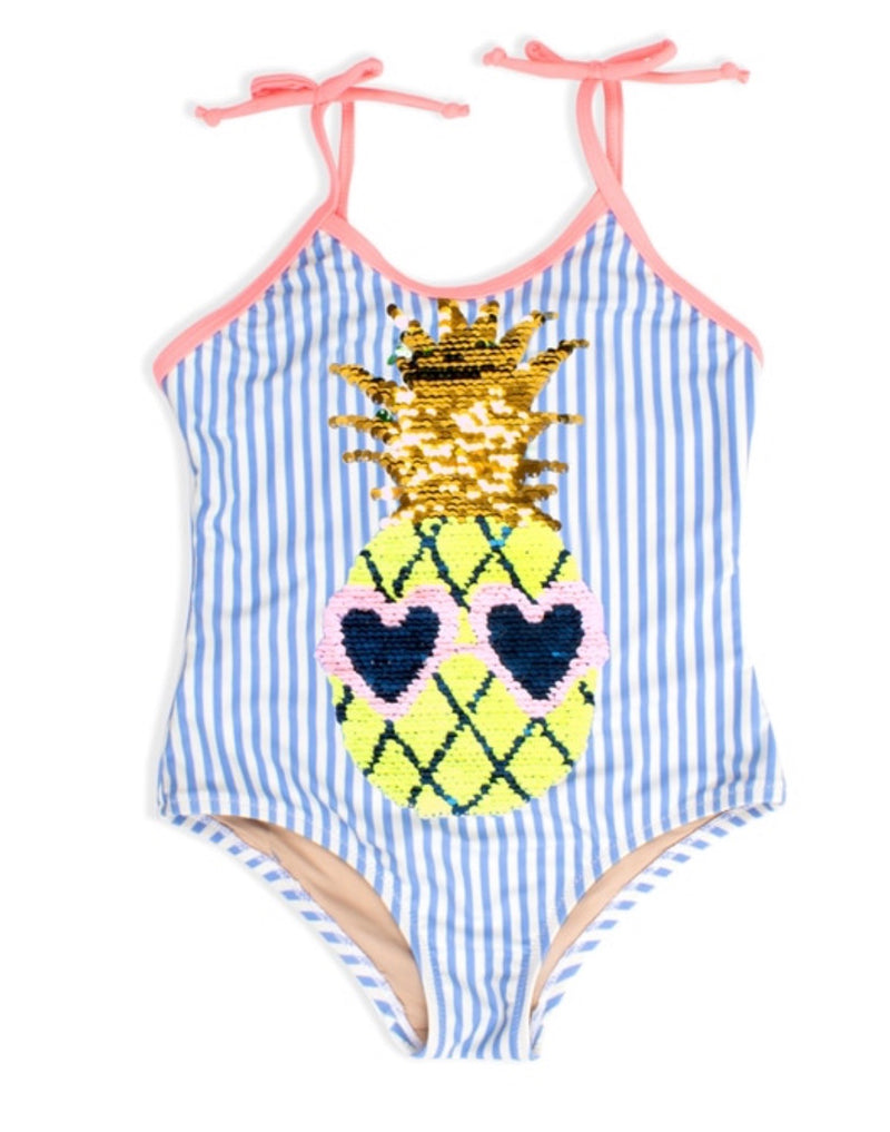 Shade Critters Flip Sequin Stripe One Piece