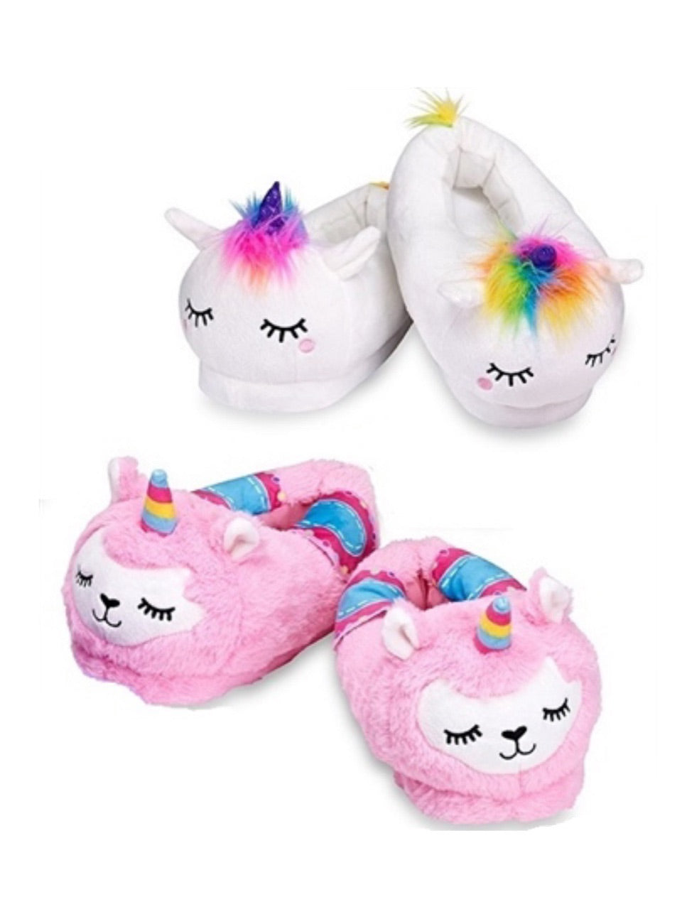 Fuzzy Fantasy Slippers - Ages 5-9