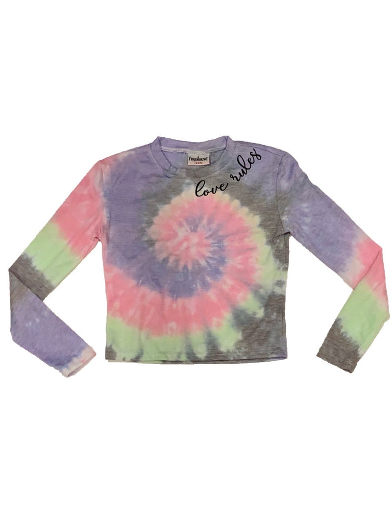 Firehouse Bandana Tie Dye Long Sleeve Tee