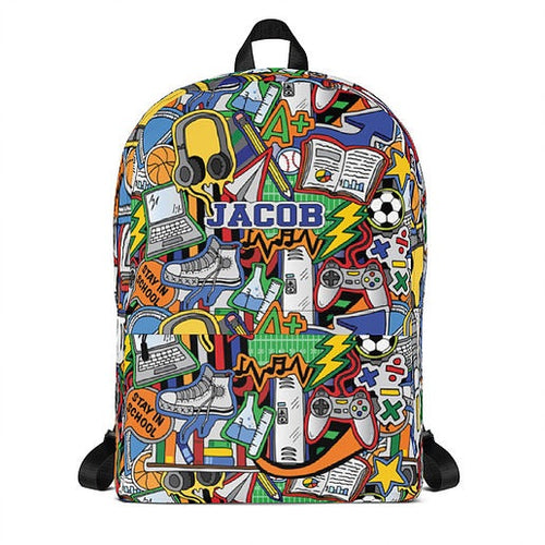 Stay in School Backpack