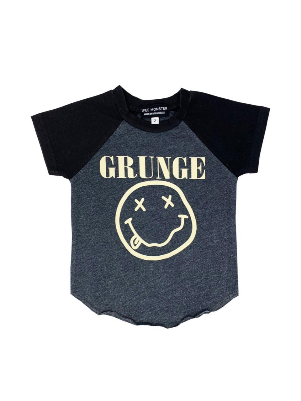 Wee Monster Grunge Raglan