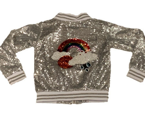 Sparkle By Stoopher Sequin Jacket
