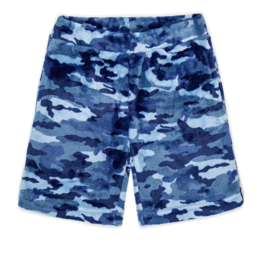 Boys Soft Fleece Camo Shorts