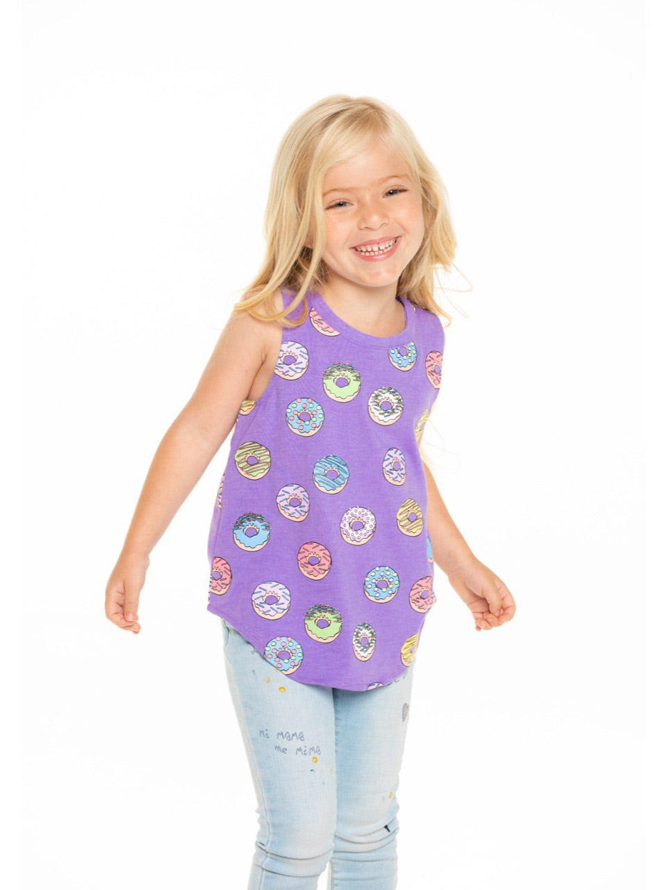 Chaser Girls Donut Bliss Muscle Tee