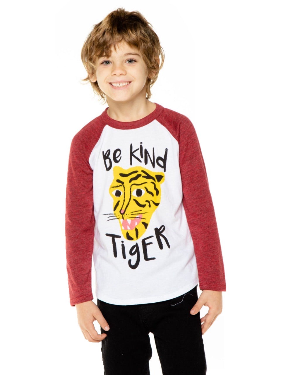 Chaser Boys Kind Tiger L/S Tee