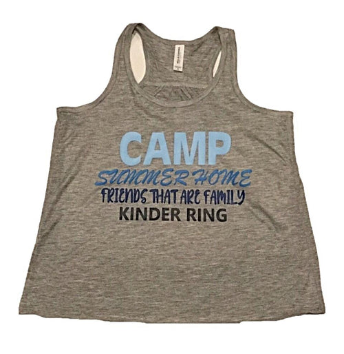 Custom Camp Summer Home Tank