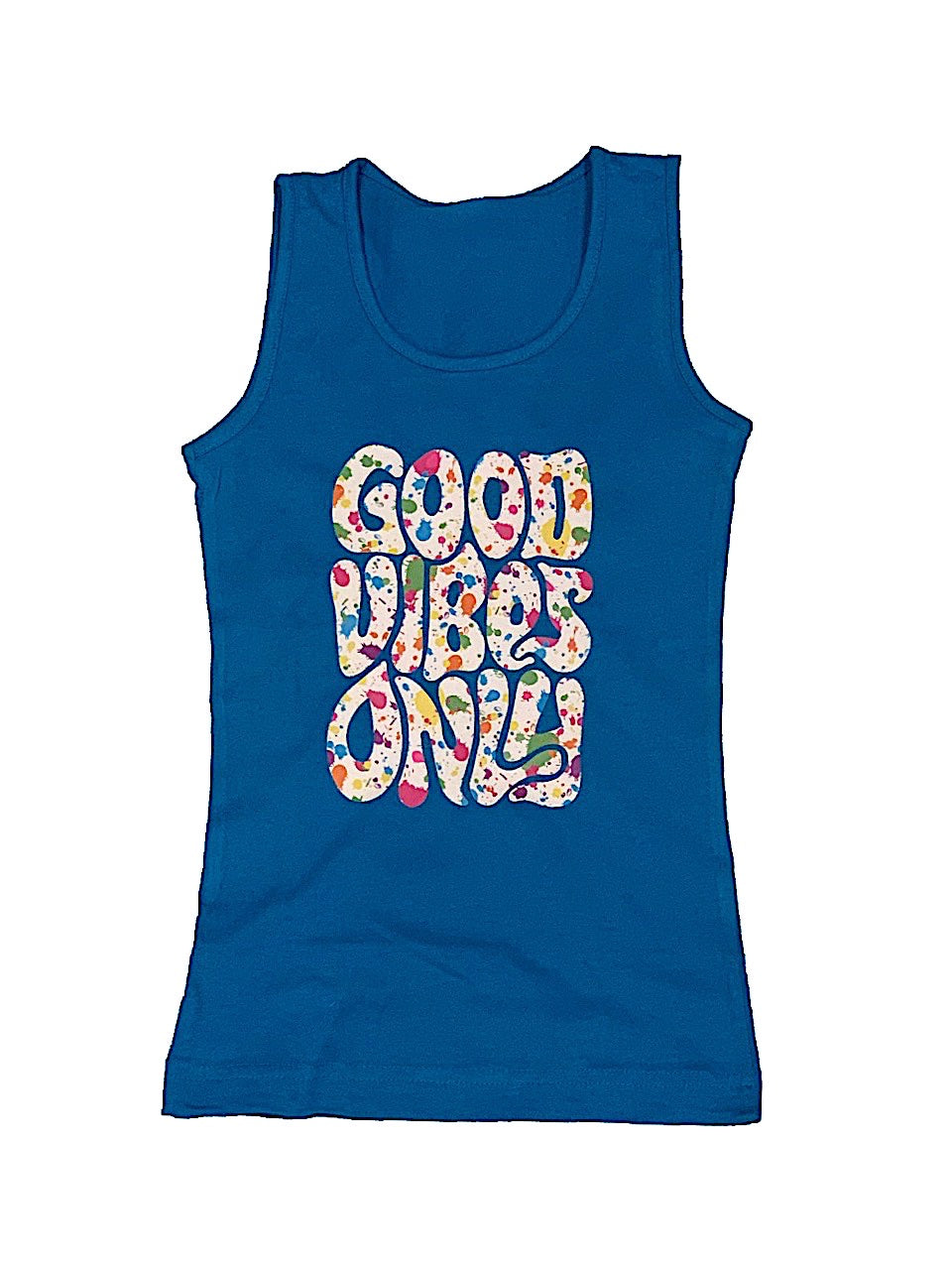 GOOD VIBES SPLATTER TANK