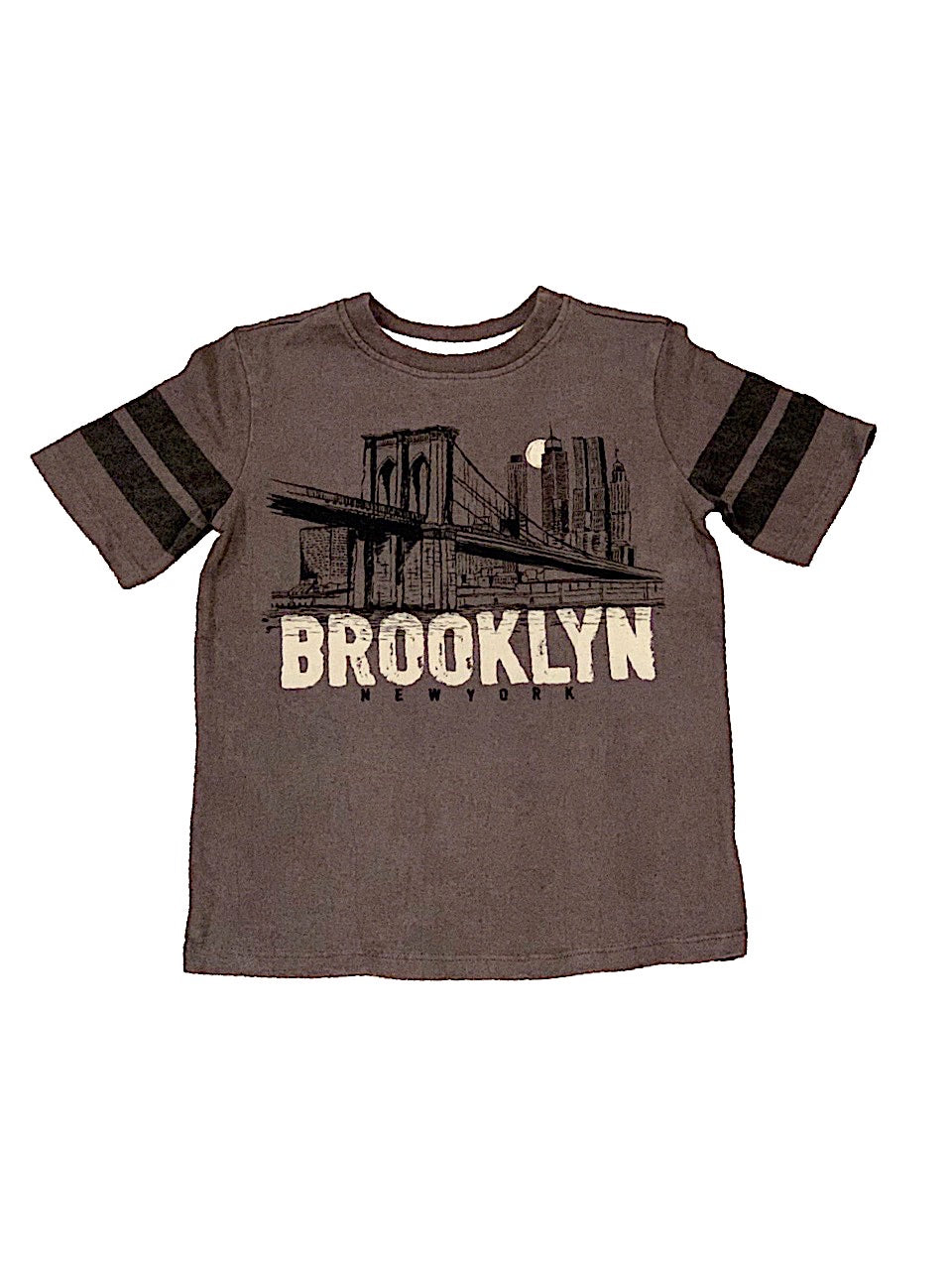 Crumbs Grey Brooklyn Tee