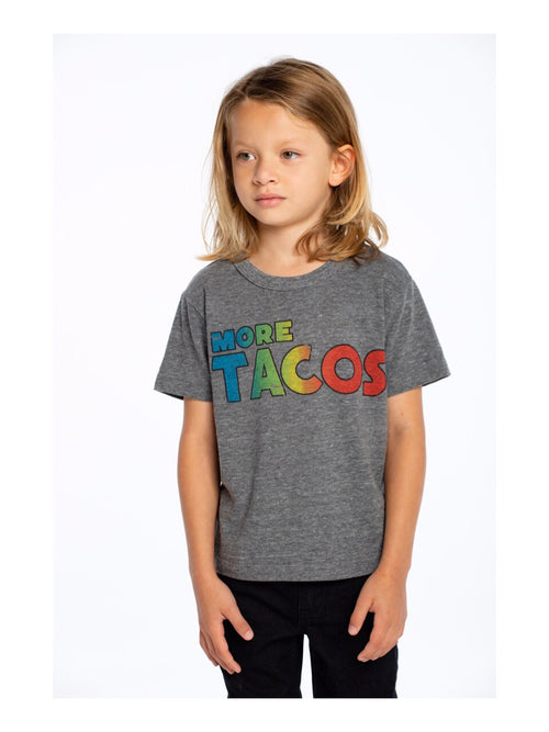 Chaser Boys Grey Tacos Tee Shirt
