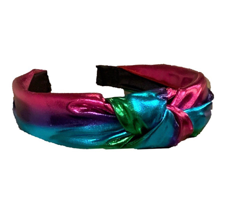 Shiny Rainbow Headband