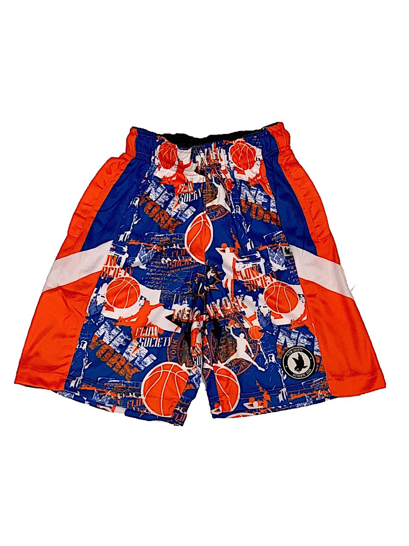 FlOW SOCIETY NY HOOPS SHORTS