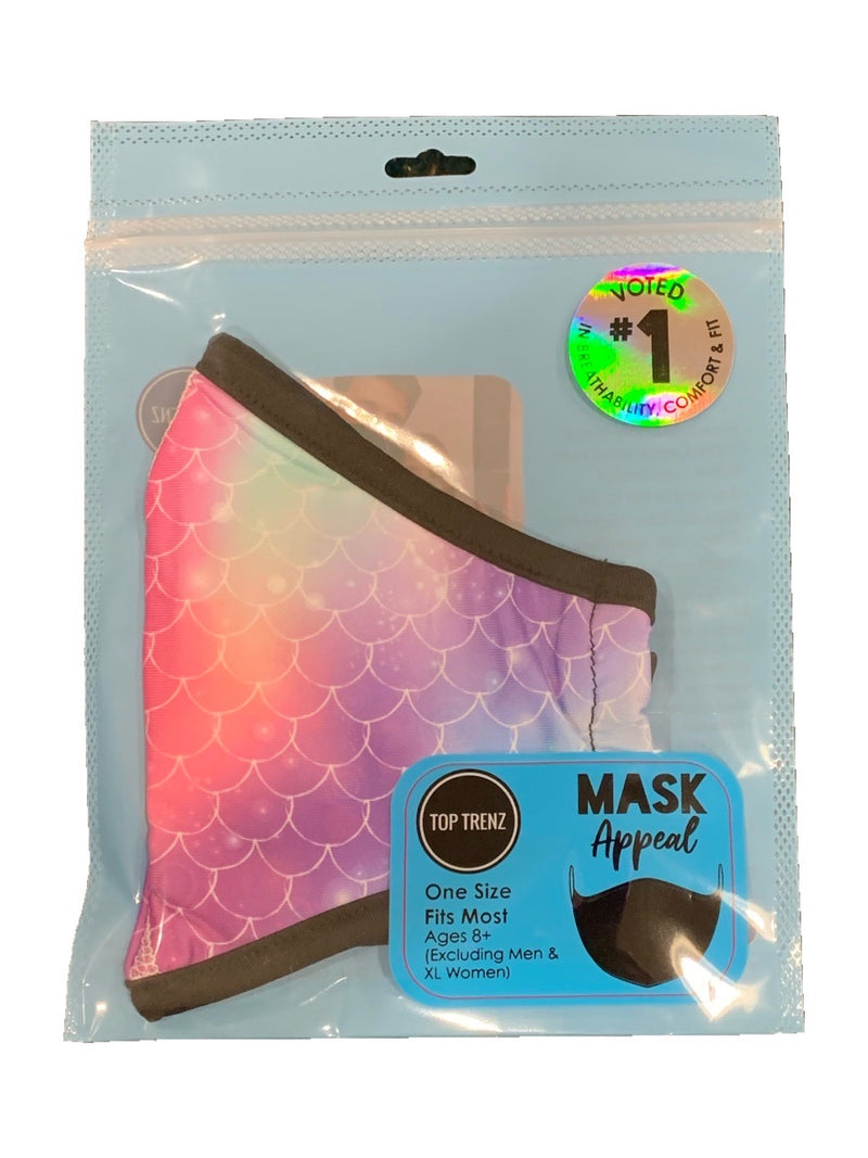 TOP TRENZ MERMAID MASK - AGES 8+