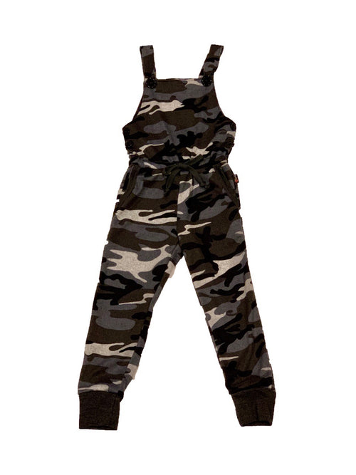 T2LOVE Charcoal Camo Overall Pocket Jogger