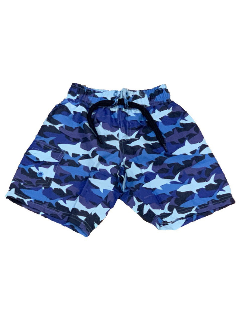 Mish Mish Blue Shark Camo Swim Shorts