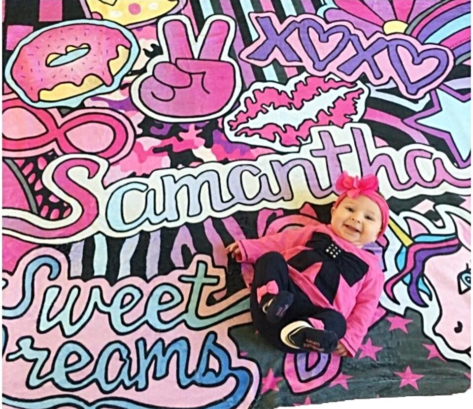 Kicks By Sammy Sweet Dreams Blanket