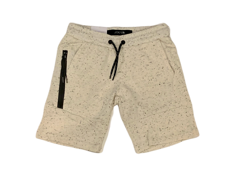 Joe's Jeans French Terry Jogger Shorts - Oatmeal Heather