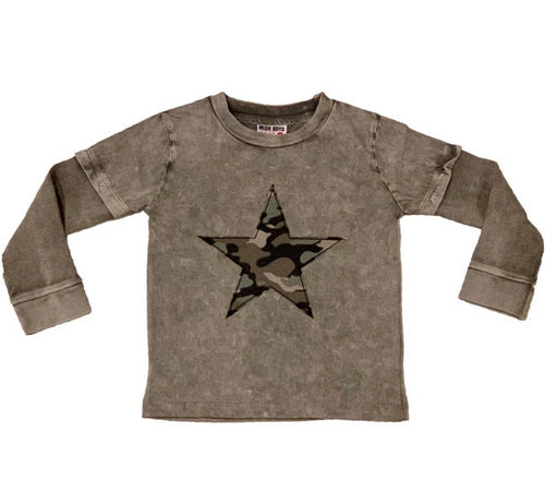 Mish Mish Baby Enzyme Star Tee