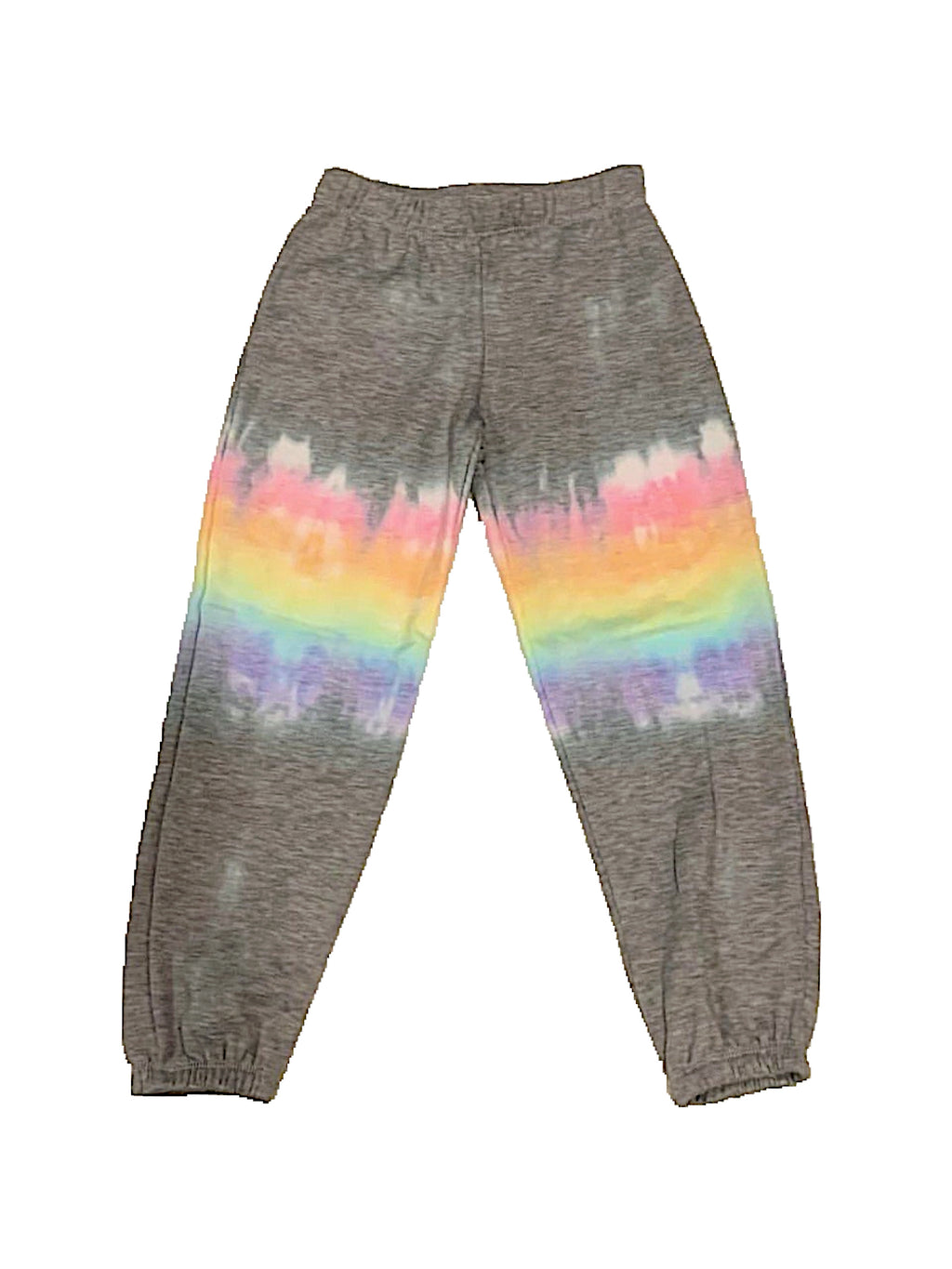Firehouse Pastel Stripe Tie Dye Sweatpants