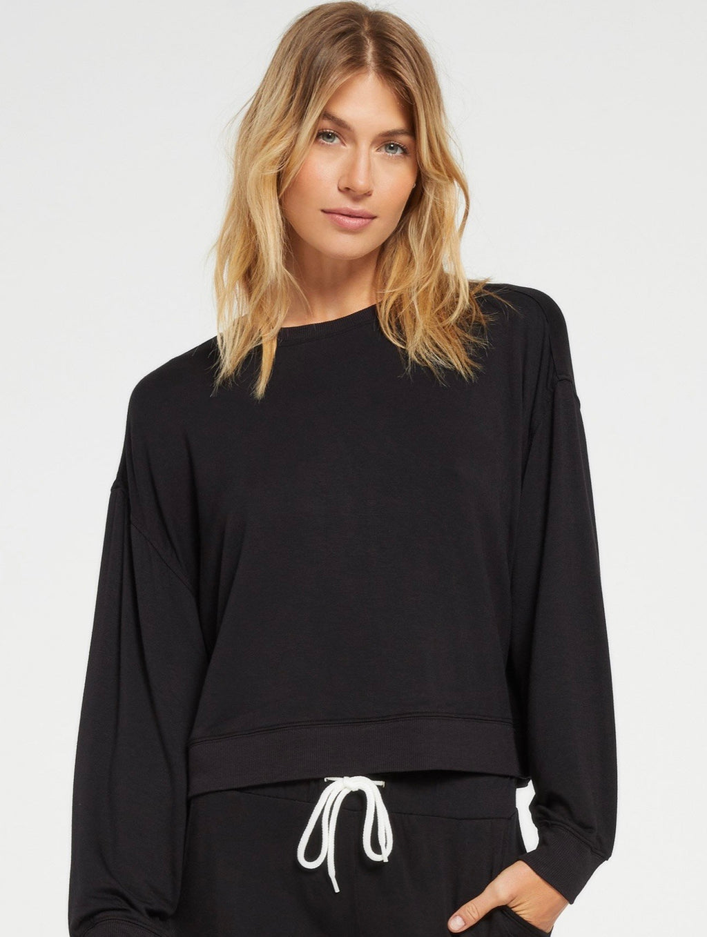 Z Supply Surrey Women Black Pullover