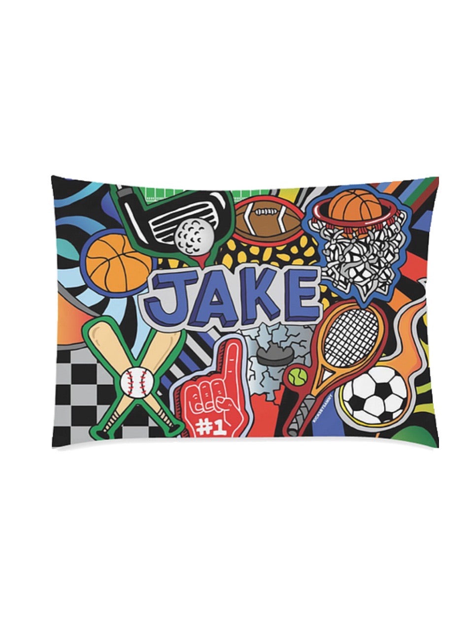 Sporty Pillow Case
