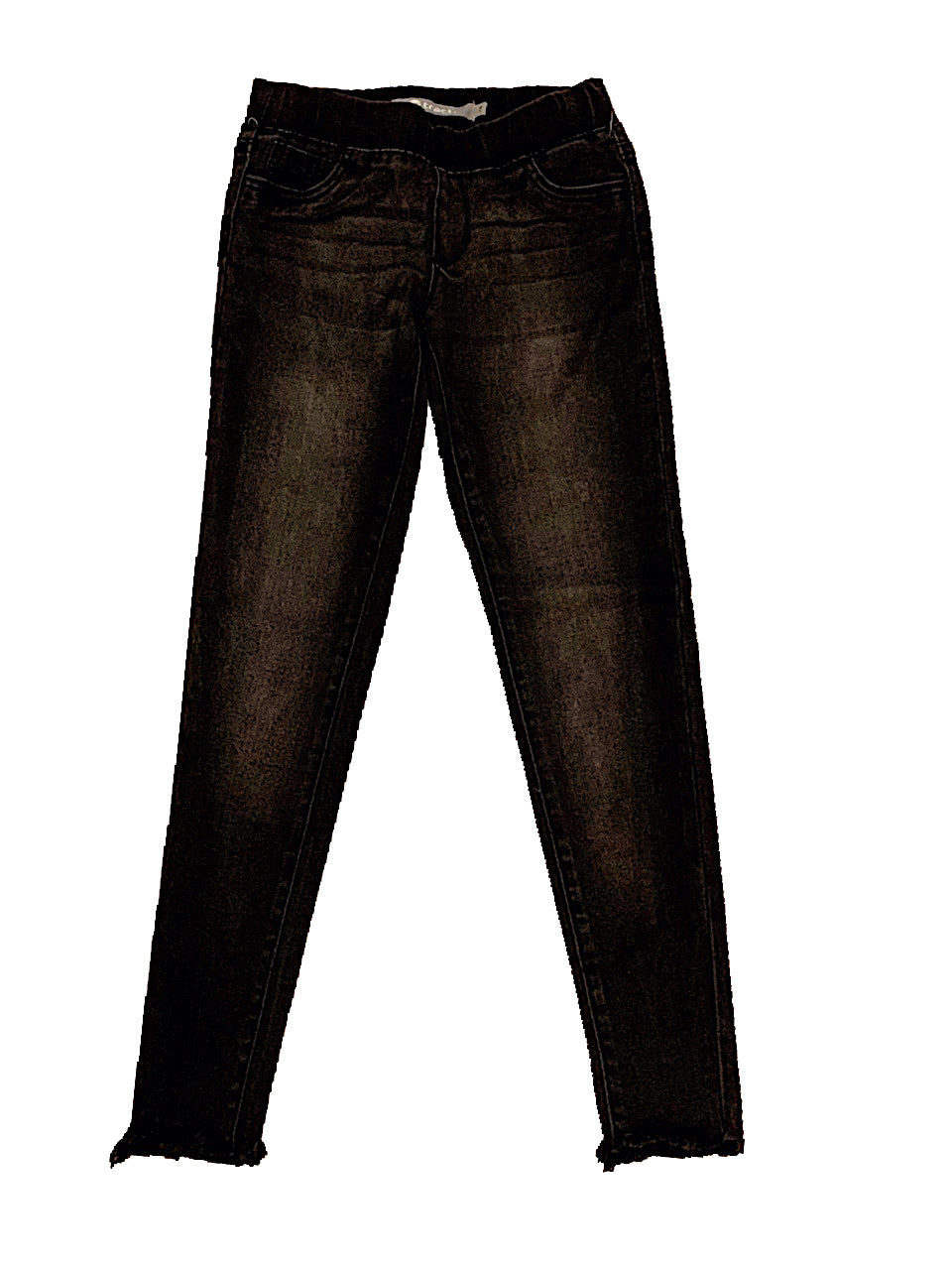 TRACTR VINTAGE BLACK PULL ON JEANS