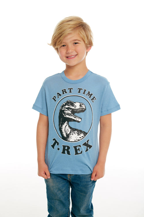 Chaser Boys Blue T-Rex Time Tee Shirt