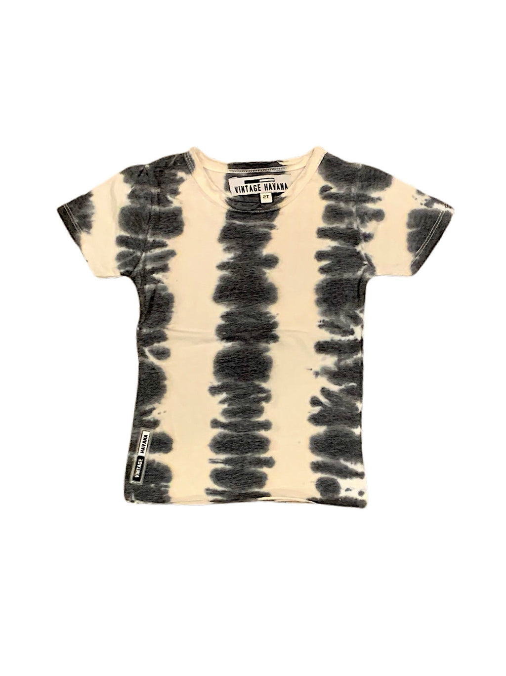 Vintage Havana Boys Black and White Tie Dye Tee Shirt