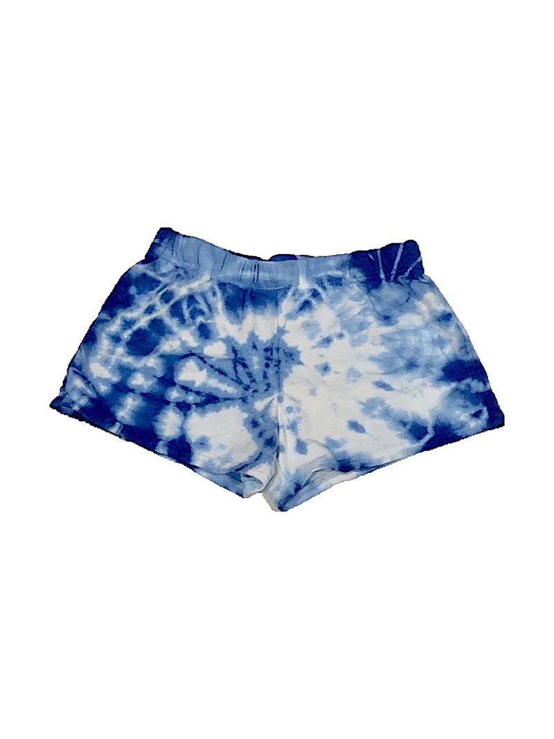Firehouse Blue and White Tie Dye Shorts