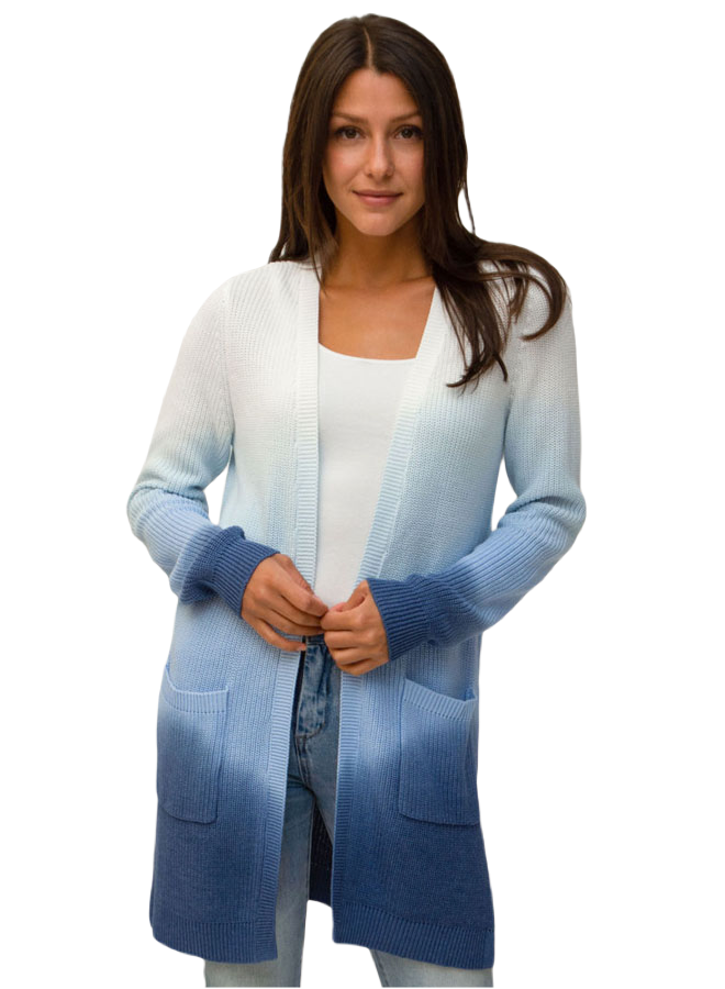 Design History Women Navy Cardigan