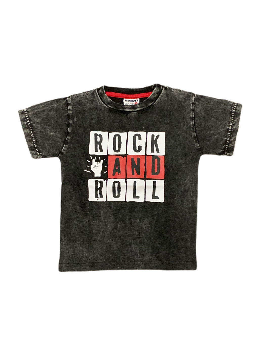 Mish Mish Black Rock and Roll Tee