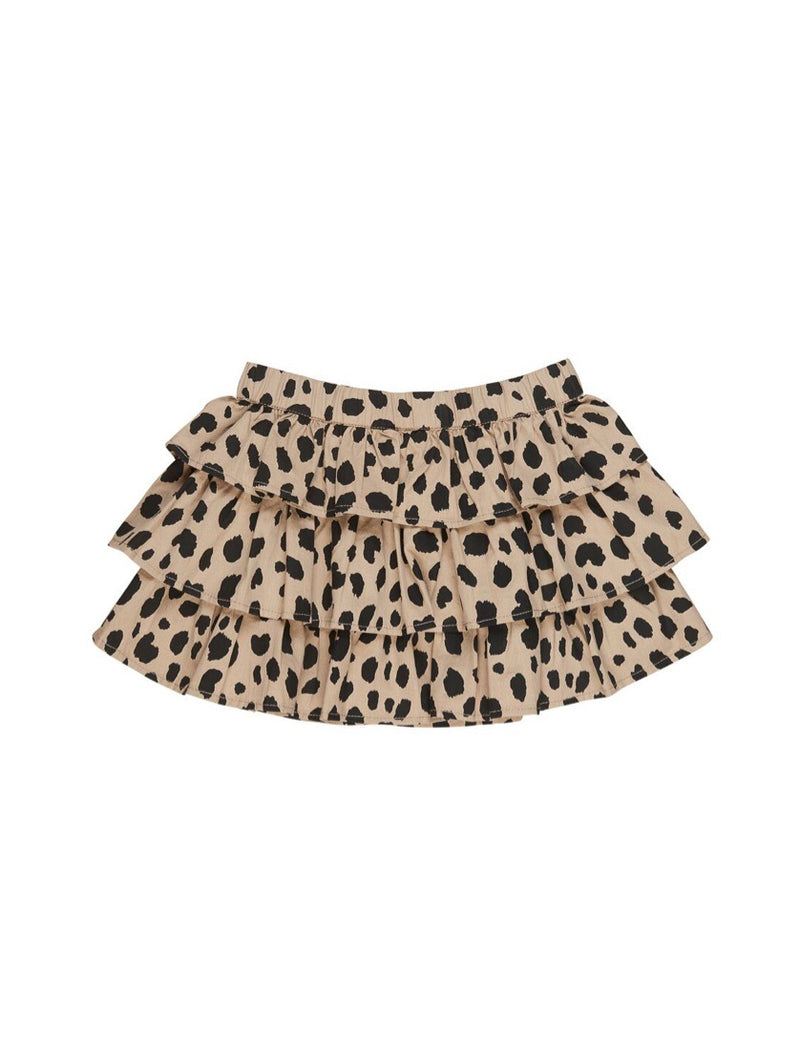 Huxbaby Animal Print Frill Skirt