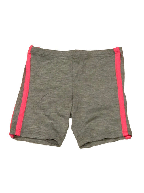 Sofi Heather and Neon Pink Bike Shorts