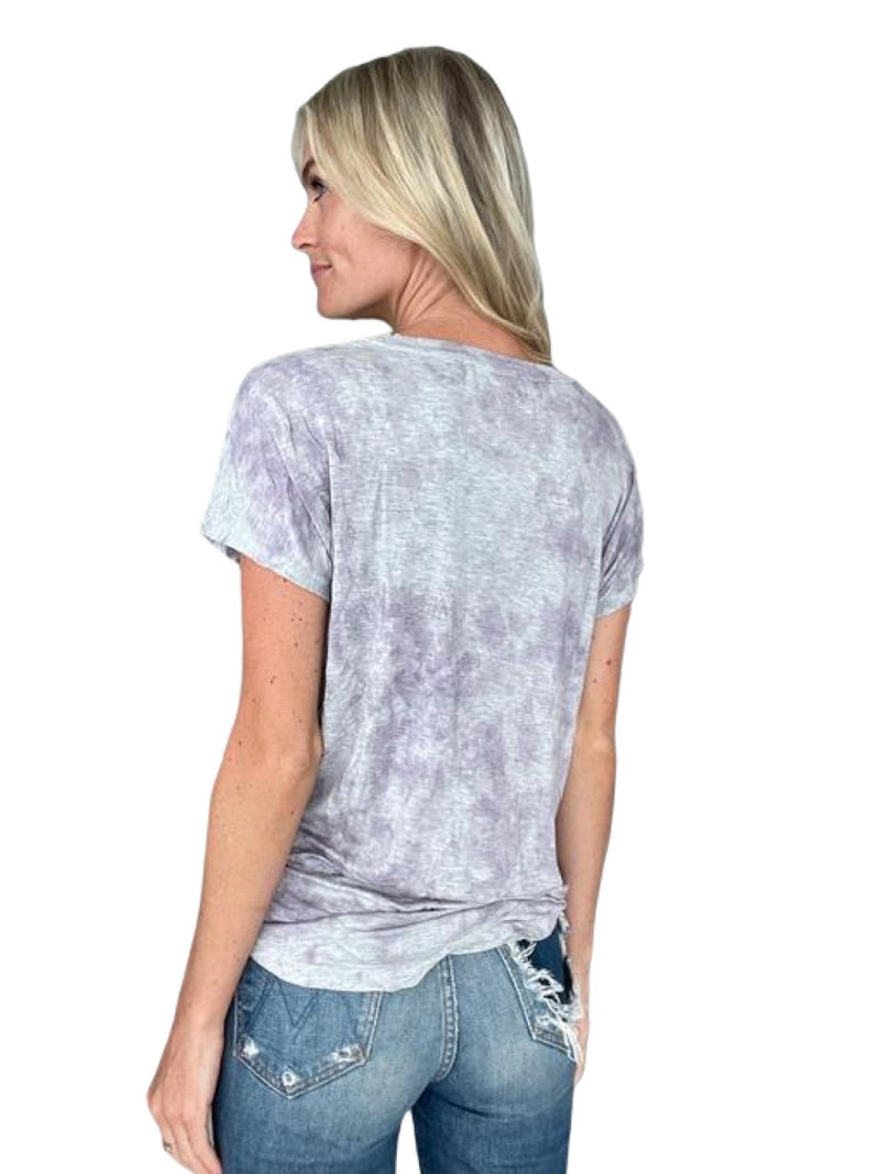 Six Fifty Lavender Tie Dye Tee