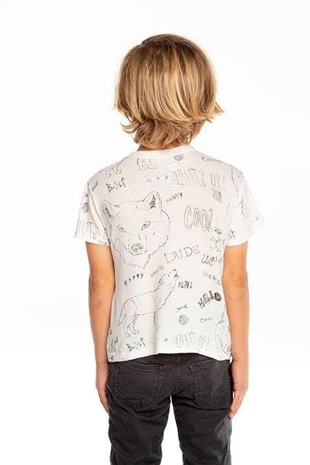 Chaser Boys Sketch Book Tee Shirt