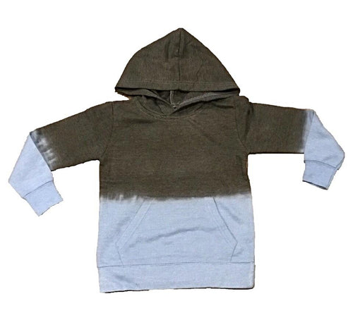 VINTAGE HAVANA BOYS Charcoal Faded Pullover