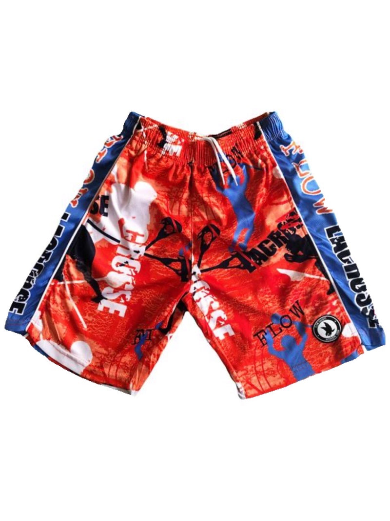 FLOW SOCIETY LACROSSE FLOW ATTACK SHORTS