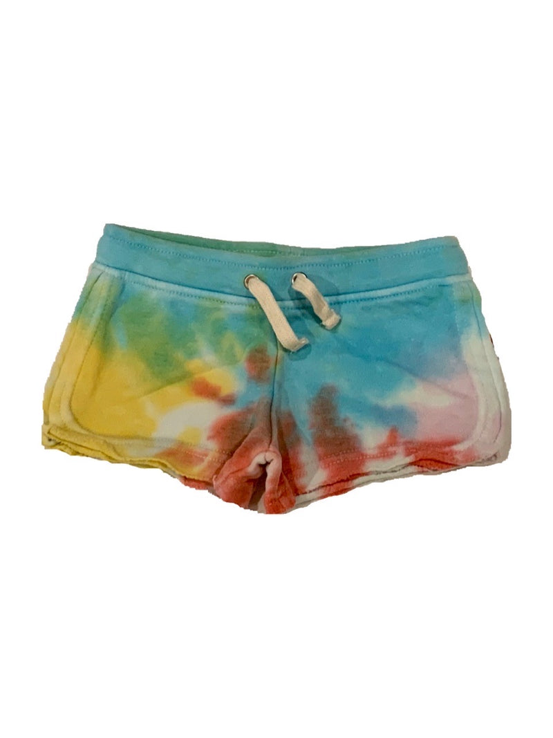 VINTAGE HAVANA TIE DYE PLACEMENT SHORTS