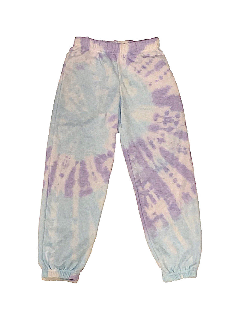 Firehouse Purple/Blue Tie Dye Sweatpants