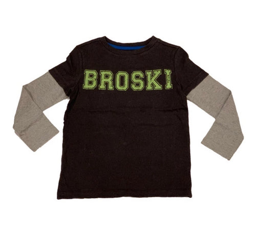 Crumbs Grey BroSki T Shirt