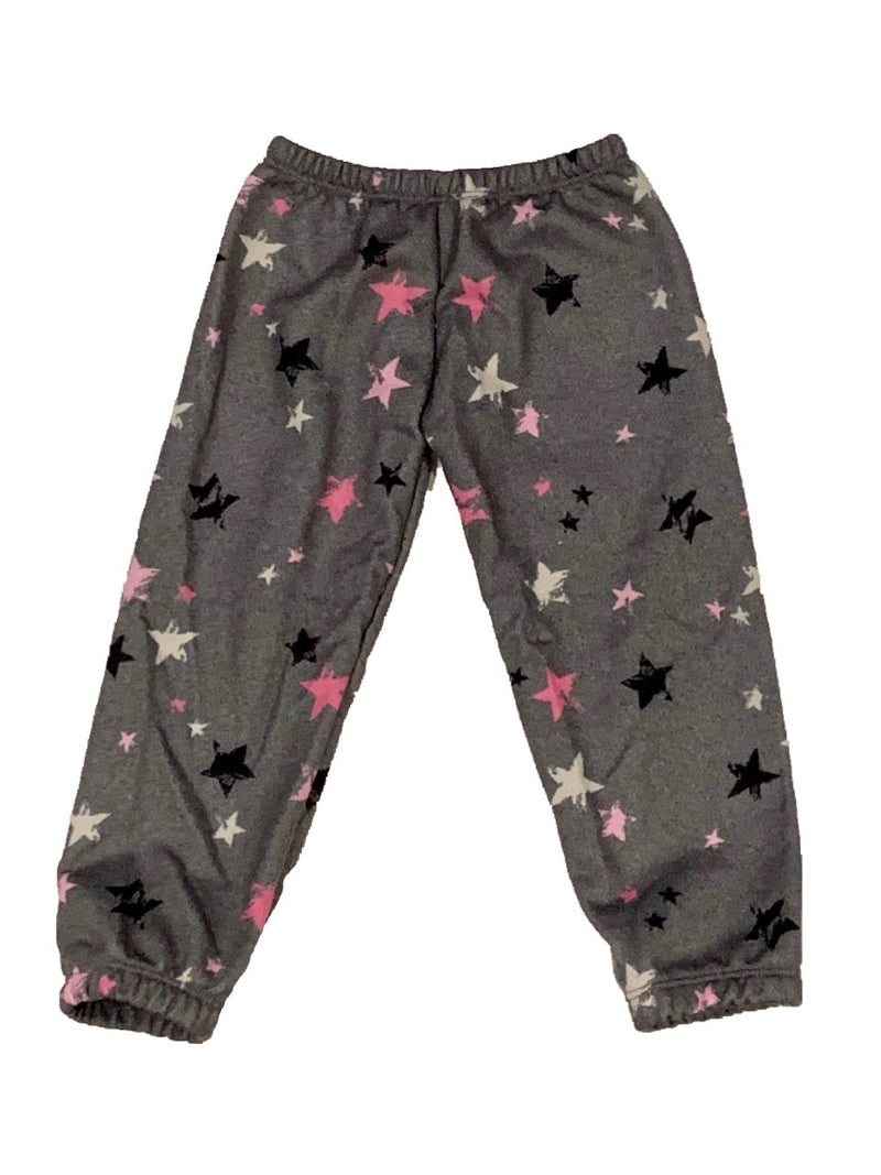 Social Butterfly Grey Star Joggers