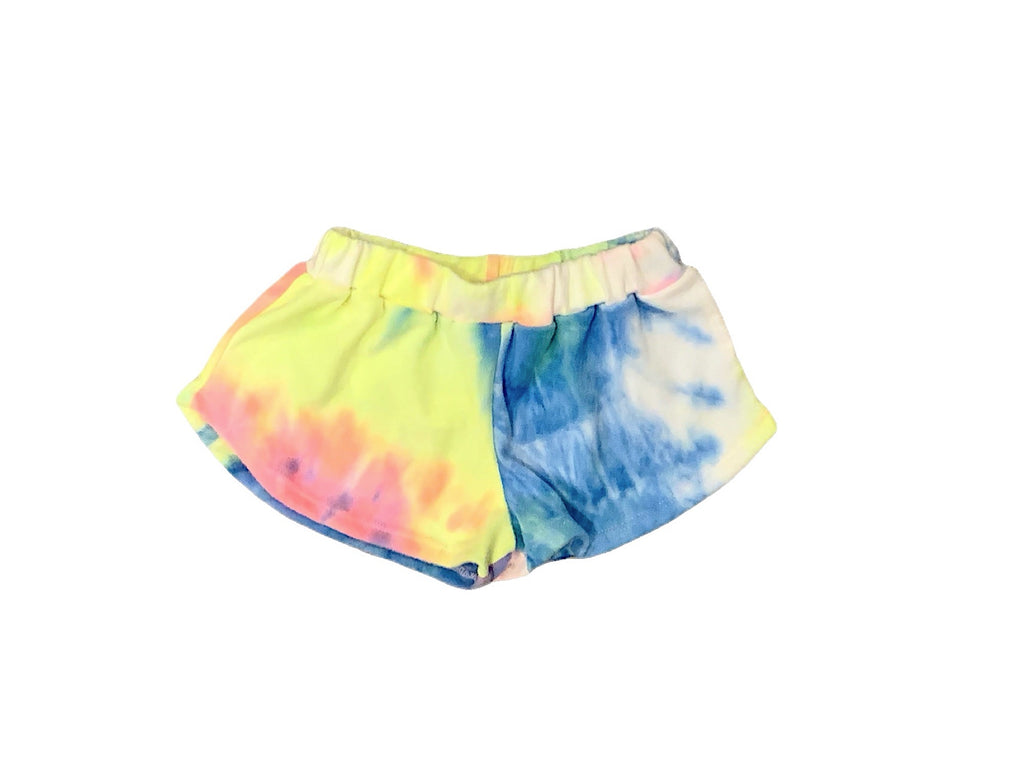 Dori Neon Bright Hacci Shorts