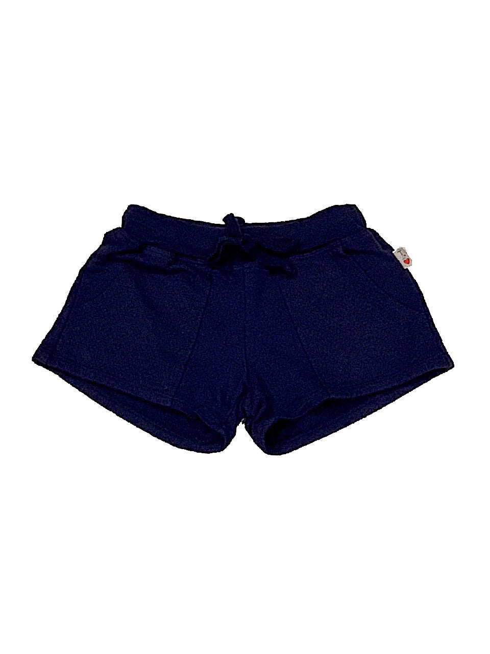 T2Love Navy Mesh Contrast Pocket Shorts